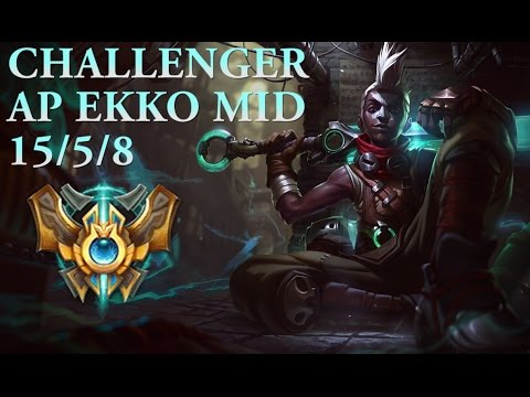 IN DEPTH - WITH MIDBEAST EP.5 (CHALLENGER AP EKKO GAMEPLAY)