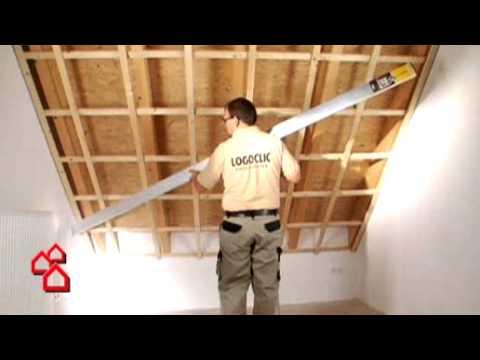Bauhaus Tv Montage Einer Paneeldecke Youtube