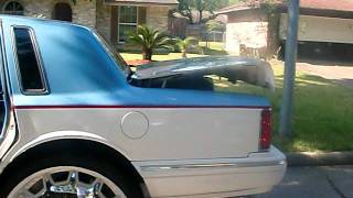 the 1st lincoln town car on 30's videos