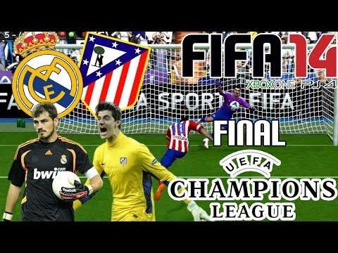 FIFA 14 || UEFA Champions League || Real Madrid vs Atlético de Madrid (final)