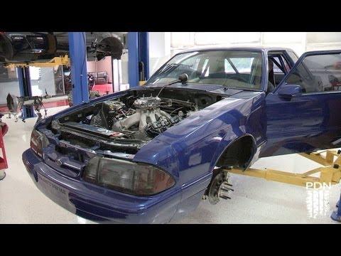 LS powered Mustang - 510 Race Engineering