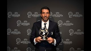 Buffon's big day at the UEFA Awards ceremony
