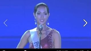30 Second Question and Answer - Bea Rose Santiago: Miss Intenational 2013