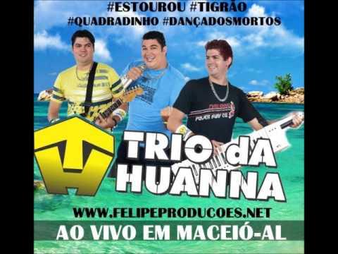 Trio da huanna - Quadradinho (ao vivo) em Maceió-AL
