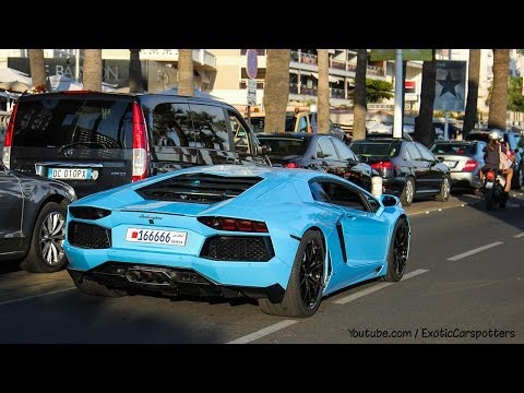 "2500 Subcribers Special ! Best Supercar Sounds 2013 ""Monaco / Cannes Editon"" - 1080p HD"