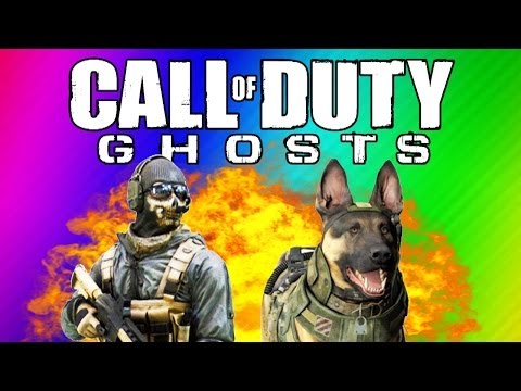 COD Ghosts Funny Moments - Ninja Defuse, Funny Killcams, Guard Dog, Chainsaw (Multiplayer Gameplay)