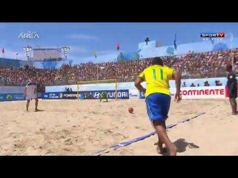 Seleção brasileira está fazendo sua preparação na praia de Camburi, no Espírito Santo. Torneio será disputado entre os dias 15 e 17 de janeiro