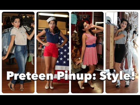 Preteen Pinup Part Three: Back to School Style! by CHERRY DOLLFACE