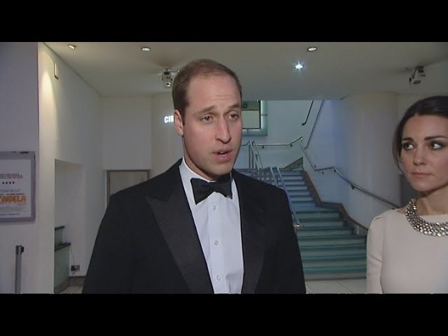 Prince William pays tribute to Nelson Mandela