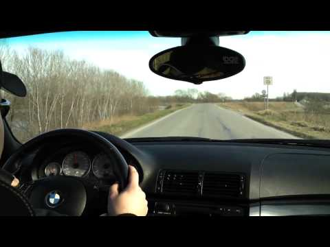 Accelerazione bmw m3 e46 acceleration 2001 manual 4.10 gruppe M sound