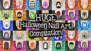 Amazing Halloween Nail Art Compilation