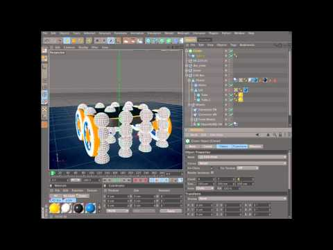 Create an animation using dynamics in Cinema 4D (2 of 6)