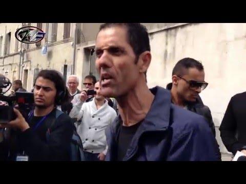 Accrochage à Marseille pro et anti 4ème mandat en présence Amar Ghoul