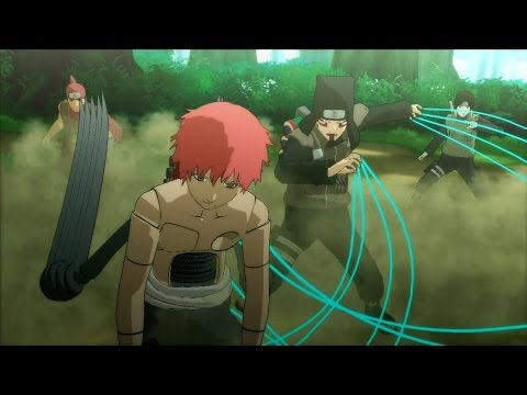 Naruto Shippuden: Ultimate Ninja Storm 3: Full Burst [HD] - Kankuro's Team vs Sasori & Deidara