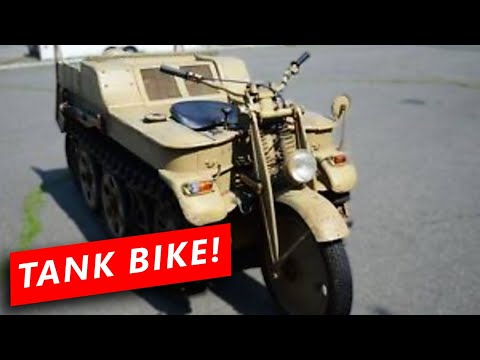 A TANK MOTORCYCLE?? - It Came From Craigslist (London, UK)