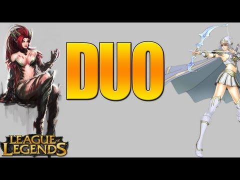 League Of Legends - Duo Lane w/ Simitachi - Zyra & Ashe Duo Gameplay