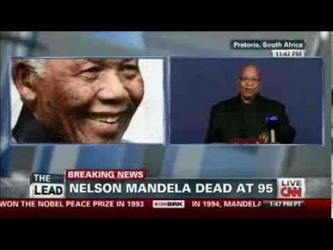 CNN Breaking News - Nelson Mandela Dead