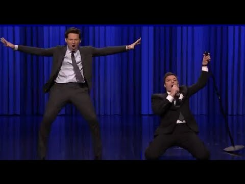 Jimmy Fallon Has Epic Lip Sync Battle With Paul Rudd On The Tonight Show Starring Jimmy Fallon