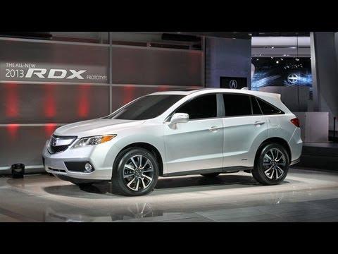 2013 Acura RDX Prototype -- 2012 Detroit Auto Show