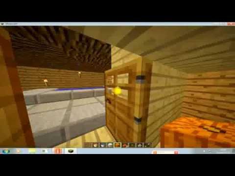 Como hacer una casa secreta bajo tierra minecraft youtube - Casas bajo tierra ...