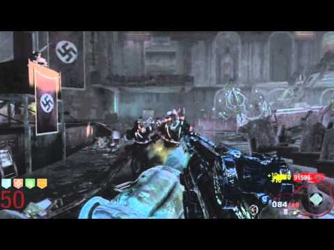 Black Ops Zombies – Round 60 Tutorial, Playthrough Killing 3,500 Zombies Pt.12/20