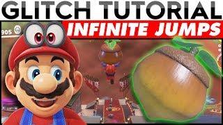 INFINITE JUMPS (WET NUT GLITCH) | Super Mario Odyssey Glitch Tutorial