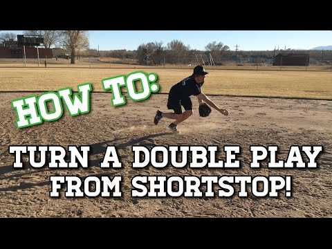 How to Turn a Double Play From Shortstop! - Baseball Fielding Drills