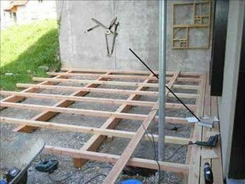 laying decking youtube