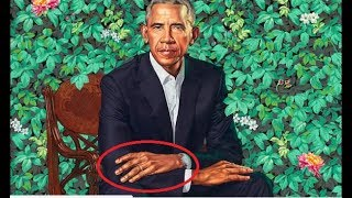 OBAMA SIX-FINGERS: THE MESSAGE BEHIND THE PORTRAIT