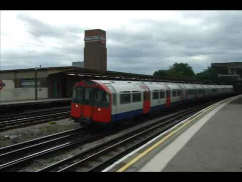 London Underground Trains At Chiswick Park