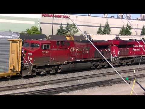 Canadian Pacific,# 7,July 1 2014,Alyth,Calgary,Mixed cargo