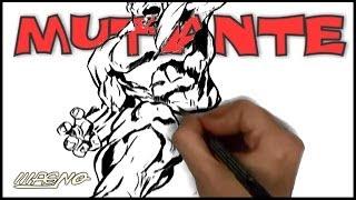 Curso De Desenho Super-Herois: Como Desenhar Um Mutante