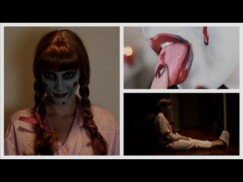 The Conjuring Doll Halloween Makeup Tutorial & Costume, EFF