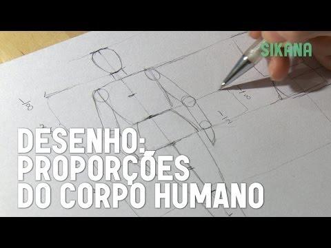 Como desenhar um corpo humano?