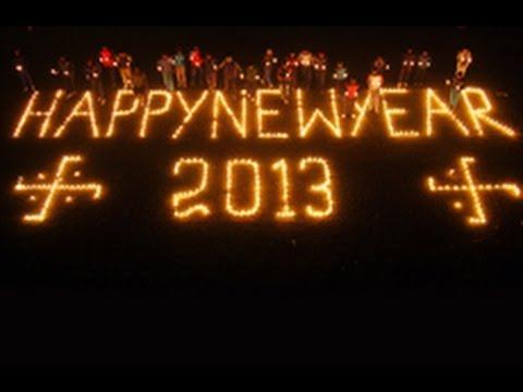 Thế giới chào đón năm mới 2013
