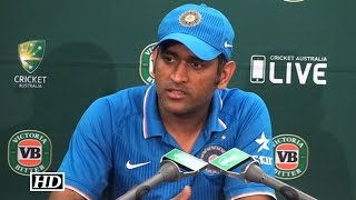 IANS - Must Watch : Dhoni's Perfect Reply To His Critics