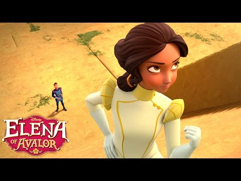 Steppin' Up | Music Video | Elena of Avalor | Disney Junior