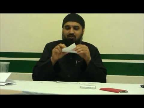 Youth : The Future of Islam  -  Ustadh Murtaza Khan - Question and Answer