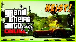 GTA 5 Online: Money Truck HEIST! Bank Heists