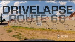 Route 66: Timelapse From Chicago to LA