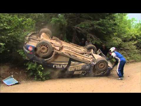 Nach Crash galt die Etappe als verloren: Der Rallyepilot sah das anders