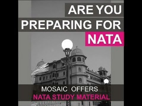 MOSAIC OFFERS NATA PREPARATION MATERIAL 2014