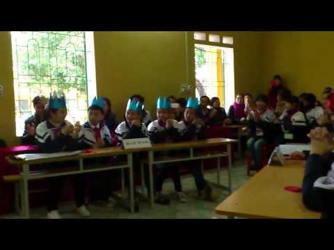 Giao lưu tiếng Anh thí điểm lớp 6 THCS Nghĩa Hồ   Lục Ngạn   Bắc Giang