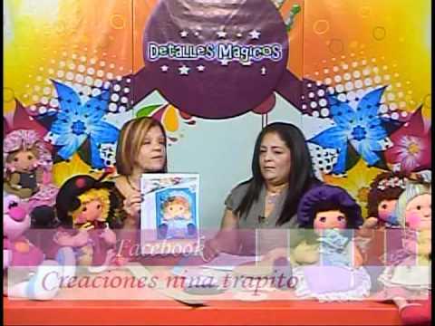 Detalles Magicos con MimiLuna Invitada Nina Trapito Muñequeria parte 1. www.tremendaluna.com