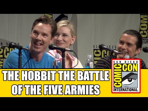 The Hobbit 3: Battle Of The Five Armies SDCC Official Comic Con Panel 2014