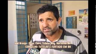 Conselho tutelar � furtado pela terceira vez em Belo Horizonte