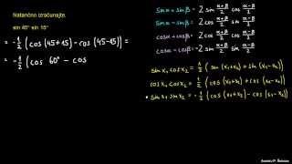 Defaktorizacija trigonometričnih izrazov – naloga 1
