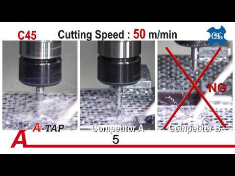 OSG EXOTAP® A-TAP® - Performance Comparison
