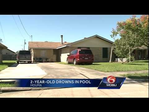 Toddler drowns in above ground pool in Houma, police say.