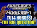 Minecraft Xbox 360 & PS3: Title Update 14 Horses The Big